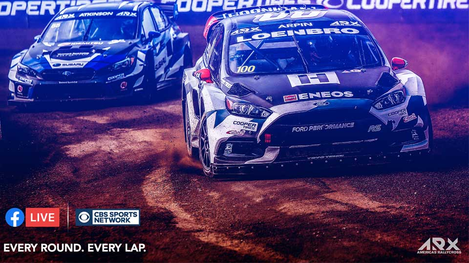 Americas Rallycross Amplifies TV and Digital Coverage for 2019 Season