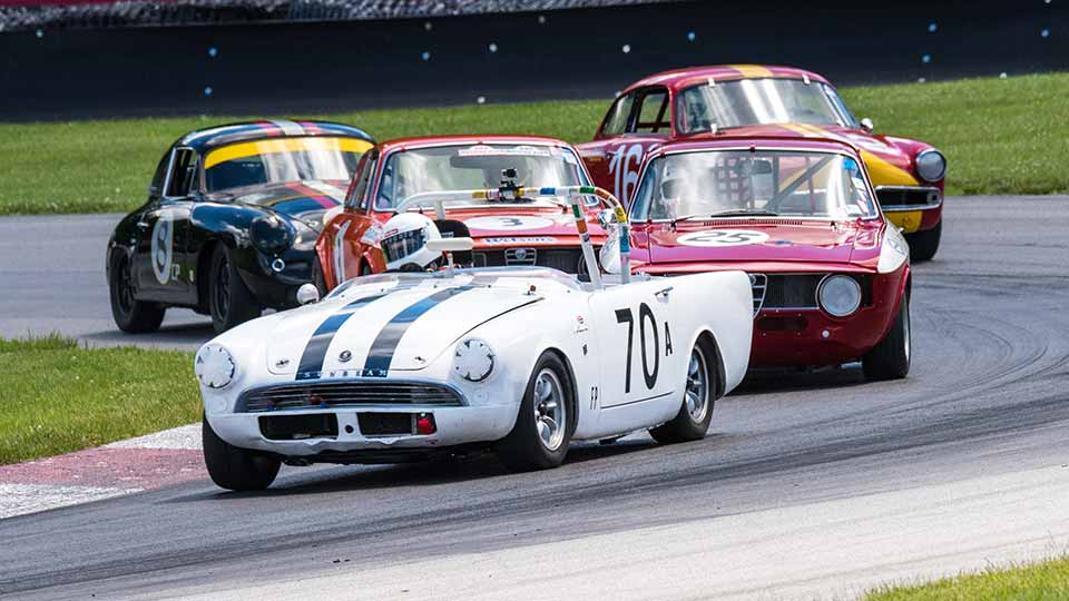 Vintage Grand Prix of Mid-Ohio Begins Tomorrow for its 37th Annual Gathering