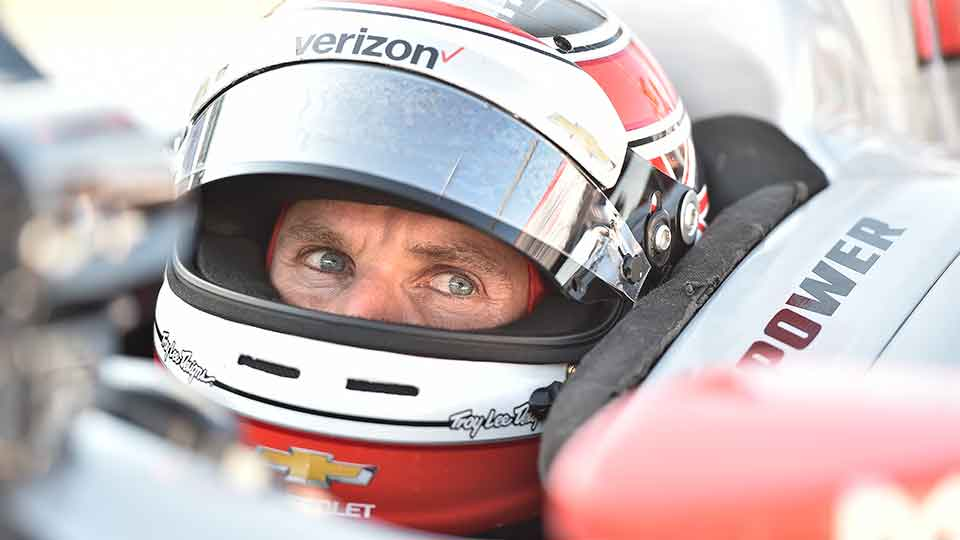 Will Power closeup