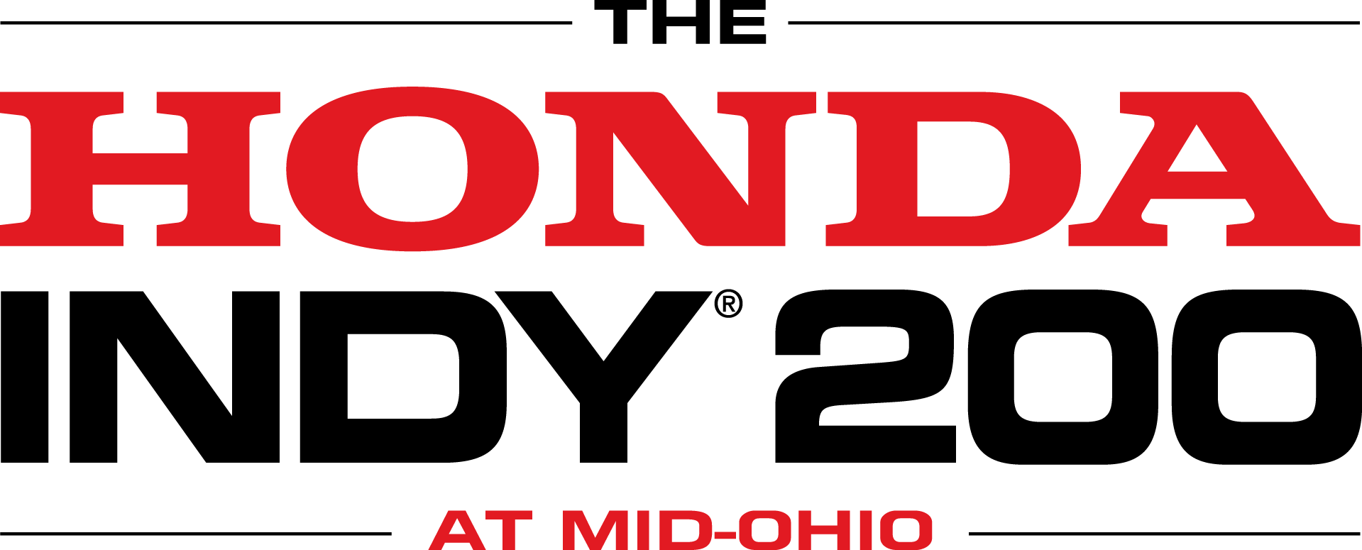 The Honda Indy 200 Logo