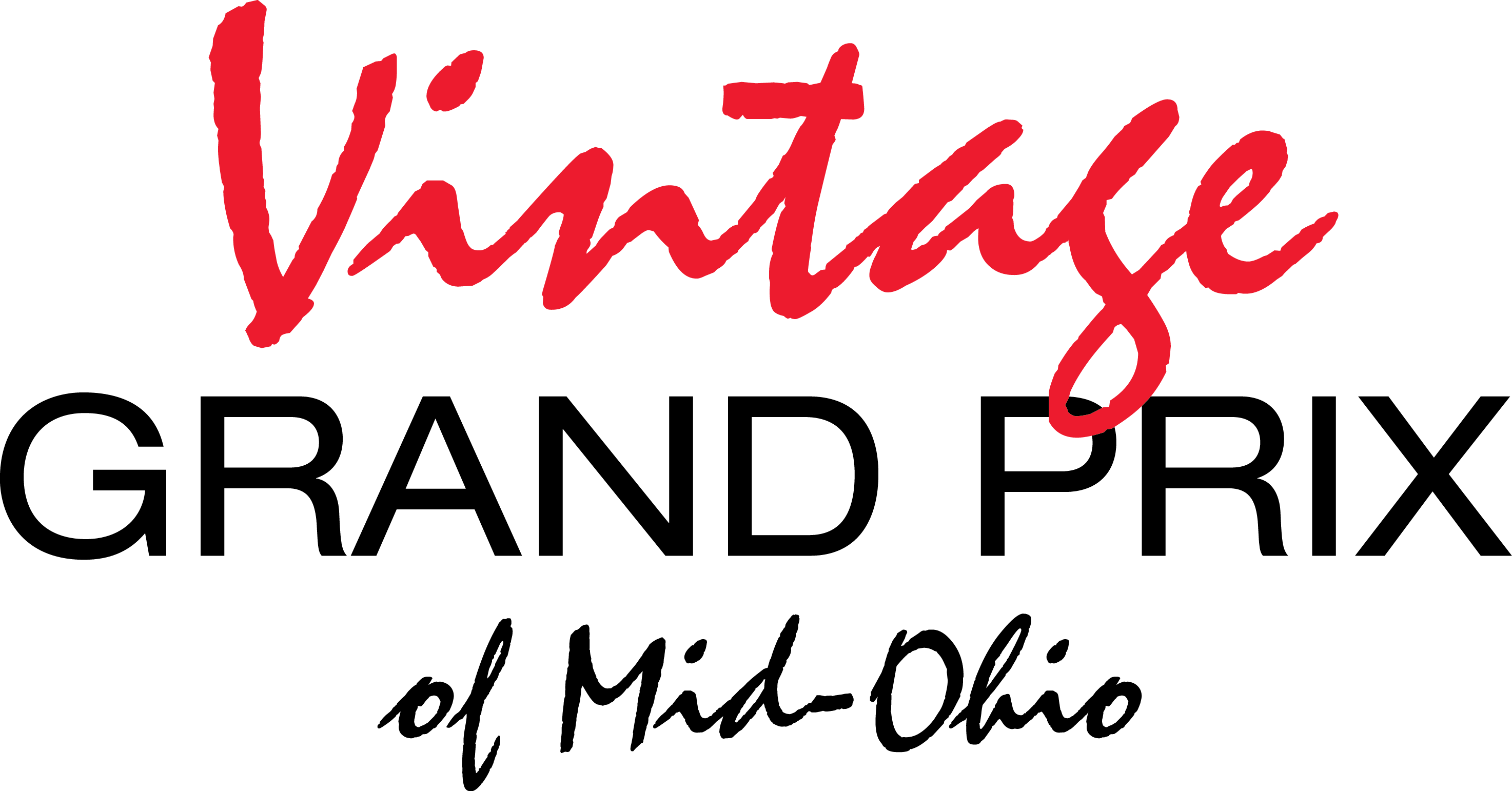 Vintage Grand Prix of Mid-Ohio Logo