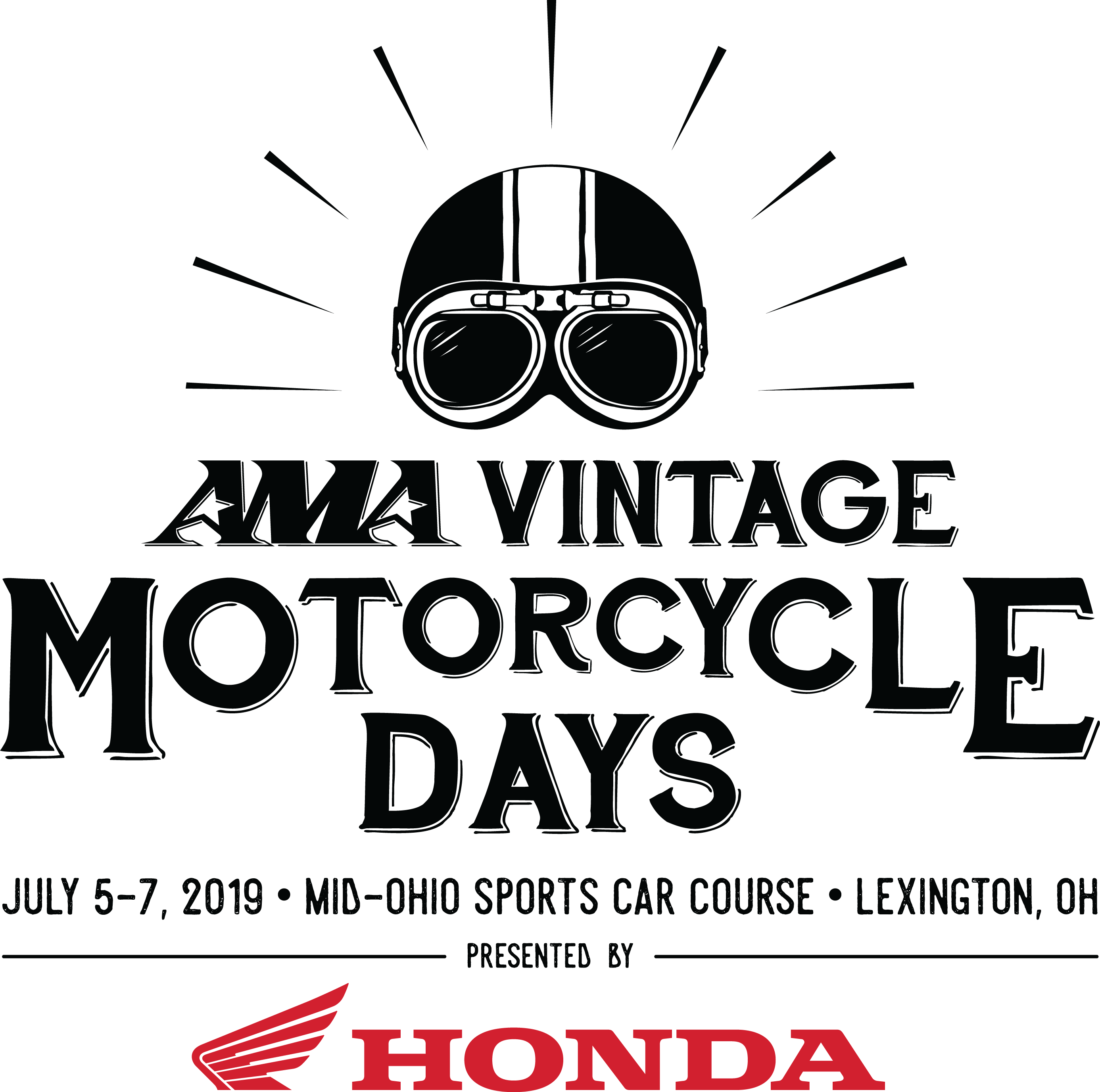 Vintage Motorcycle Days Logo
