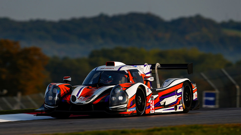 No.54 Prototype on track at Mid-Ohio Sports Car Course