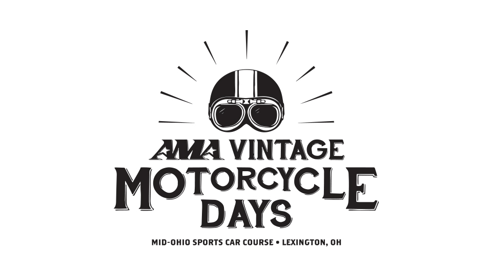 AMA Vintage Motorcycle Days Logo