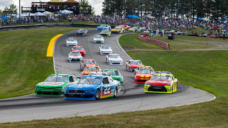 Mid Ohio Sportscar Course >> Mid Ohio Sports Car Course B L Transport 170 Brings Nascar