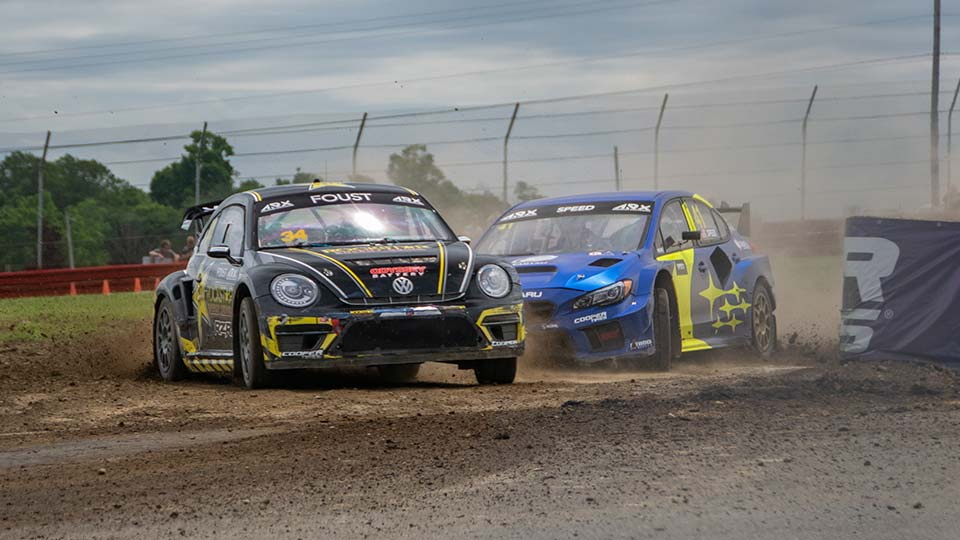 ARX cars on track at Mid-Ohio
