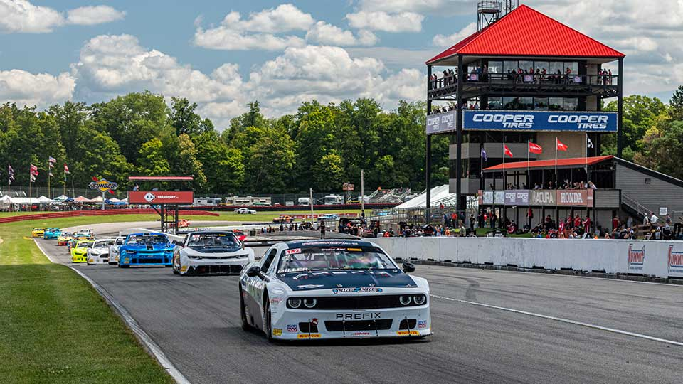 Trans Am Cars on track at Mid-Ohio