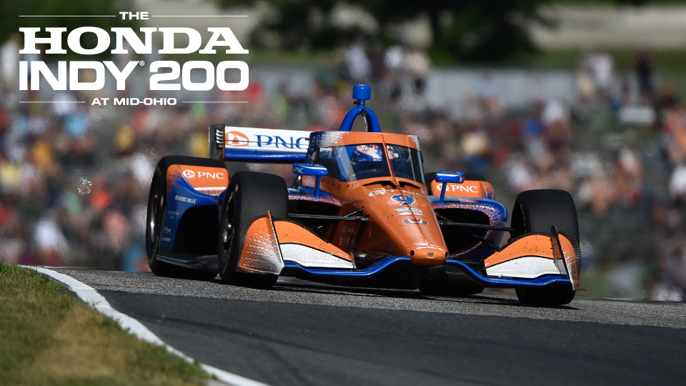 The Honda Indy 200 at Mid-Ohio Sports Car Course Will be Open to Fans and Now Features an INDYCAR Doubleheader