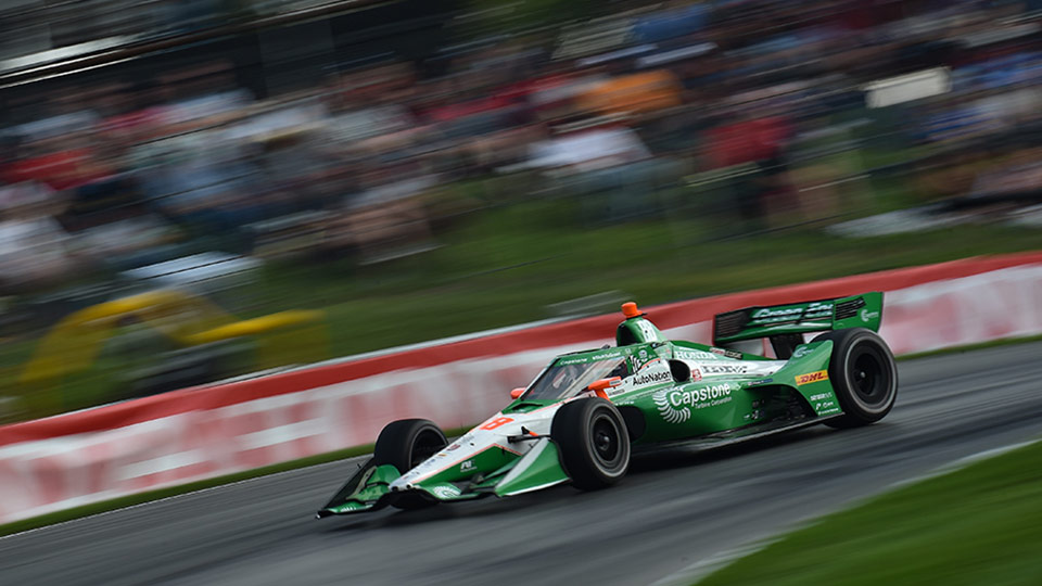 Colton Herta wins race 2 at Mid-Ohio