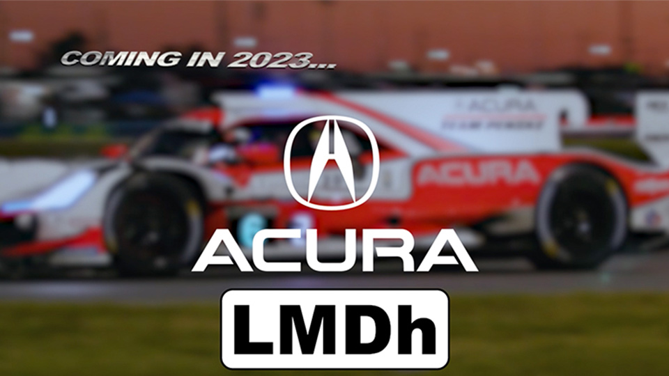 Acura Announces Plans to Join LMDH Class in 2023