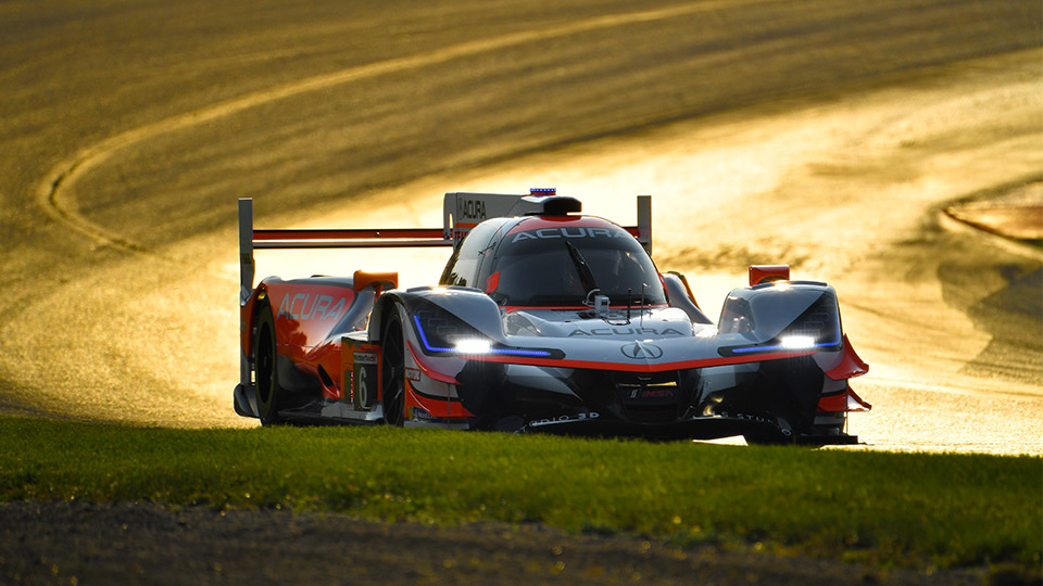 Front Row Sweep for Acura Team Penske at Mid-Ohio